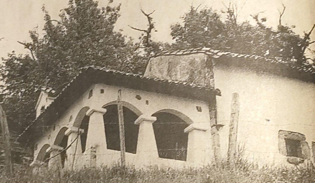 Capilla de San Roque en Arobes.