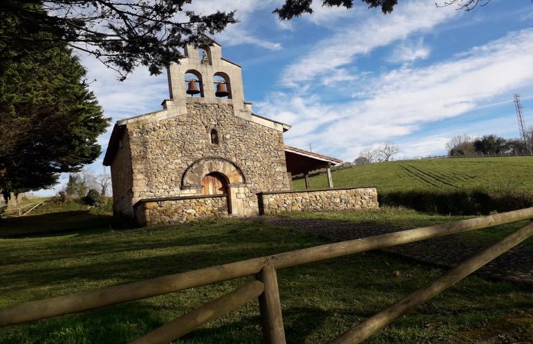 Capilla de San Antonio Abad de Nevares.