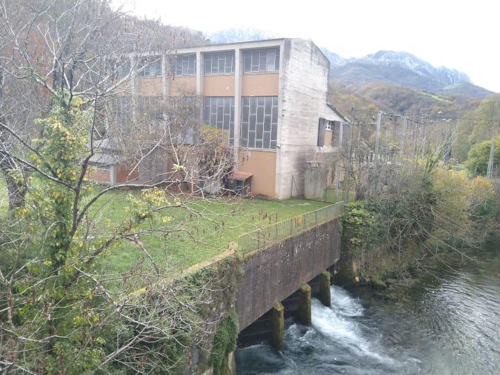Central Hidroeléctrica, Las Arenas, Cabrales