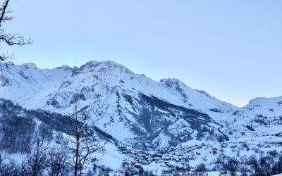Entre nieve